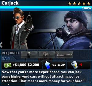 Job carjack