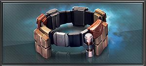 Item grappling belt