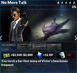 Job no more talk