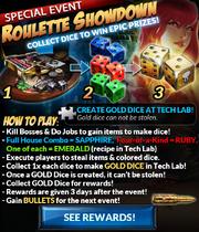 Event roulette showdown