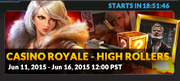 Event casino royale high rollers banner
