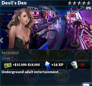 Job devils den