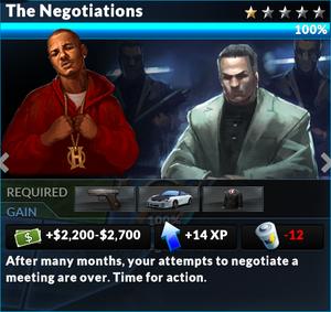Job the negotiations