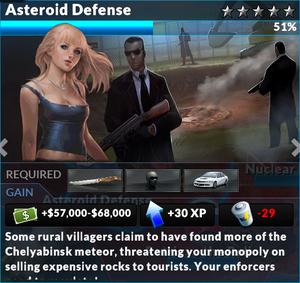 Job asteroid defense