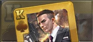 Item casino card king wildcard