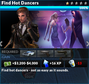 Job find hot dancers