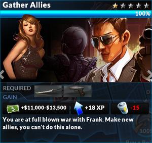 Job gather allies