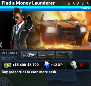 Job find a money launderer