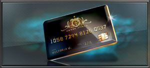 Item the black card