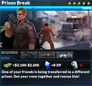 Job prison break