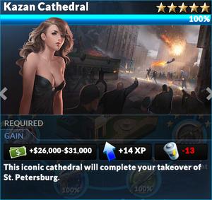 Job kazan cathedral