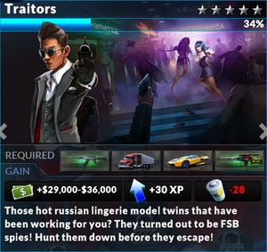 Job traitors