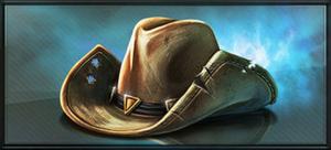 Item wranglers hat