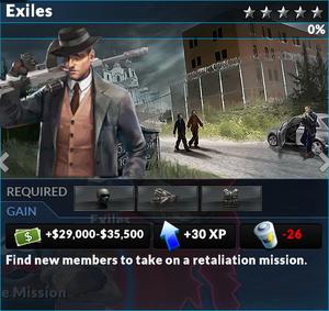 Job exiles