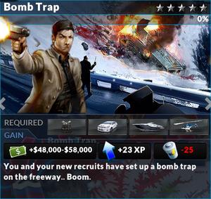 Job bomb trap