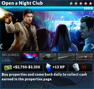 Job open a night club