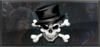 Item topper skull