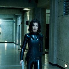 Selene escaping from Antigen.