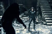 Underworld-Evolution, Selene about to face a lycan