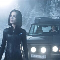 Selene and Michael arrive at the monastery.