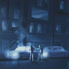 An IPU checkpoint, using ultraviolet light to kill Vampires