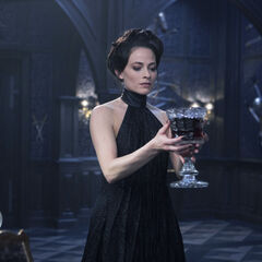 Semira with a goblet of Selene's blood