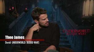 Underworld Blood Wars 2017 Exclusive Interview with Theo James