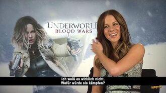 Underworld Blood Wars - Kate Beckinsale Interview