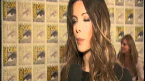 'Underworld Awakening' Interviews with Kate Beckinsale & Michael Ealy at Comic-Con 2011