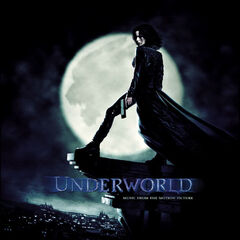 Selene on the cover of <i>Underworld</i>.