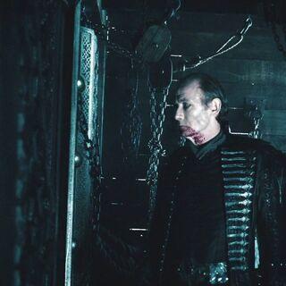 Viktor inside the ship