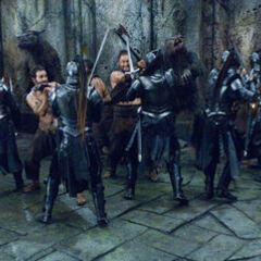 Lycans fighting Death Dealers.