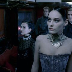 Amelia and the Council in <i>Underworld</i>