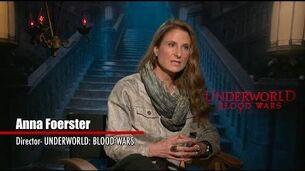 Underworld Blood Wars 2017 Exclusive Interview with Anna Foerster