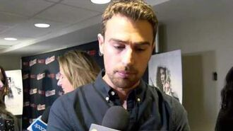Underworld Blood Wars' Theo James At the New York Comic Con