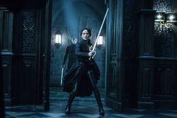 Semira with sword