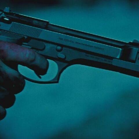 A Beretta 92FS in <i>Evolution</i>.