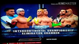 Tcw Elimination Chamber S1 Match Card