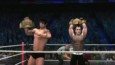 Dark Angels wins the Tag titles