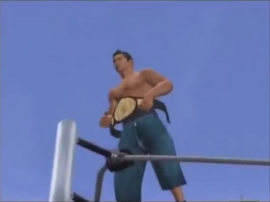 Mario Sanchez winning the PASW Undisputed Championship