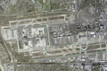 Los Angeles International Airport satellite view