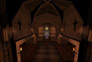 Church Altar Area Monastery Past