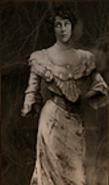 Evaline Covenant portrait in Library