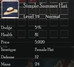 Simple Summer Hat