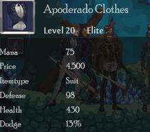 Apoderado Clothes