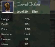 Cheval Clothes