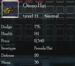 Otono Hat