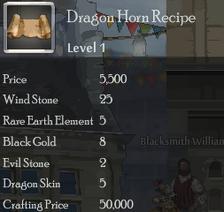 Dragon Horn Rec