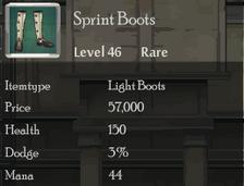 Sprint Boots