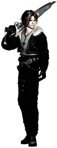 Squall Leonhart character